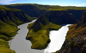 新疆喀拉峻阔克苏:一起去看大峡谷